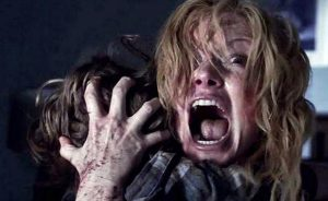"""Teresa Palmer and Gabriel Bateman star in """"Lights Out,"""" the scariest horror film to hit theaters in a long time."""