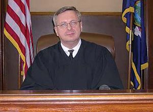 Judge Michael Pietruszka signed the warrant to search Steve Pigeon's condo.