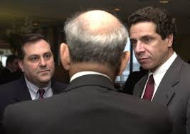 Steven Pigeon with Gov. Andrew Cuomo